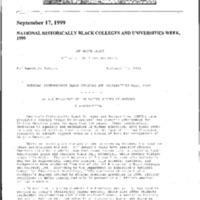 Congressional Black Caucus Dinner 9/18/99 [2]