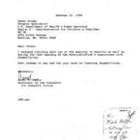 Speech: National Assn. of Chain Drug Stores 8/23/94