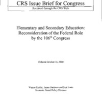 ESEA [Elementary and Secondary Education Act]