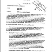 Education-ESEA [Elementary and Secondary Education Act] [2]