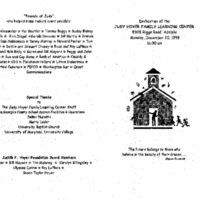 Early Childhood/Judy Hoyer Learning Center Event 12-20-99