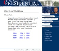 Virtual Library Homepage