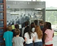 Students viewing Little Rock Nine exhibit.jpg